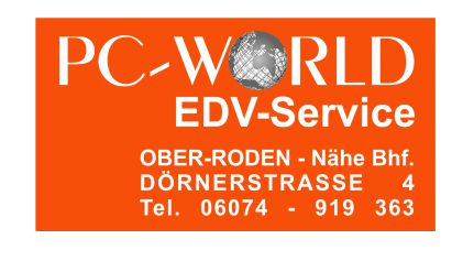 Logo PC-World EDV- Service